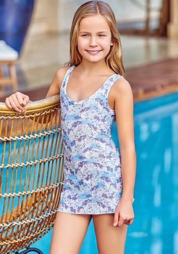 Adasea 5044 Kız Çocuk Elbise Mayo