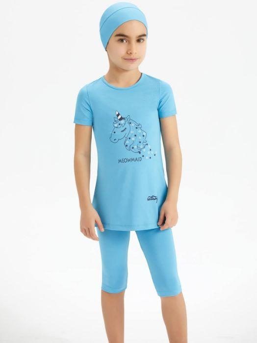 Tesmay Kız Çocuk Tesettür Mayo 0265