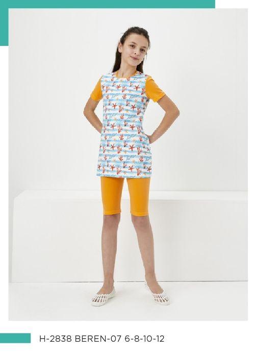 Haşema Yarı Kapalı Çocuk Mayo H-2838 BEREN-07