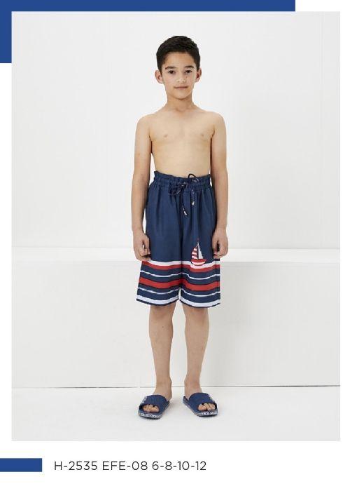 Haşema Erkek Çocuk Tesettür Şortu Efe H-2535