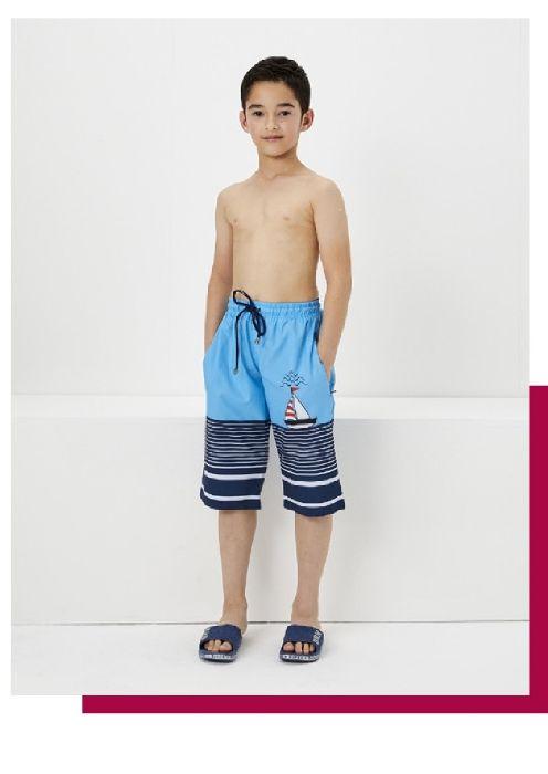 Haşema Erkek Çocuk Tesettür Şortu Yiğit H-2536