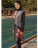 Adasea Full Cover Burkini Swimsuit 2179