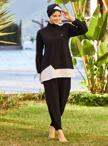 Adasea Lycra Burkini Swimsuit 4246